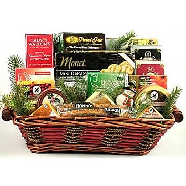 Say Cheese! Holiday Gift Basket