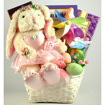 Ballerina Bunny Gift Basket