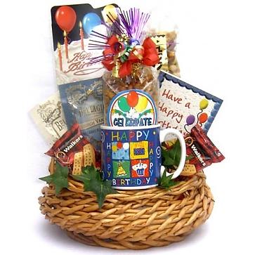 Birthday Bash Gift Basket