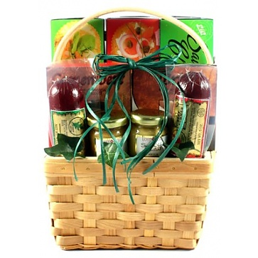 Cheese, Sausage and More, Gift Basket