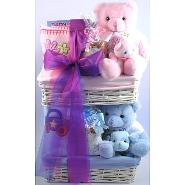 Double Trouble Gift Basket