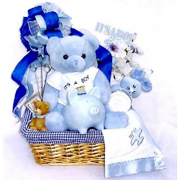 First Moments Gift Basket