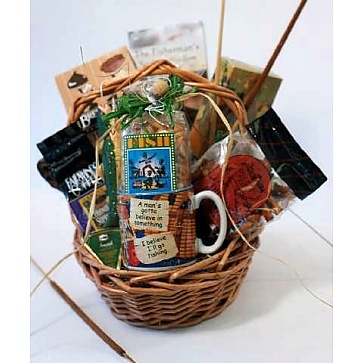Gone Fishin Gift Basket