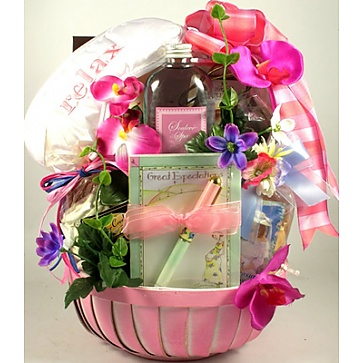 Great Expectations Gift Basket for Mom-To-Be