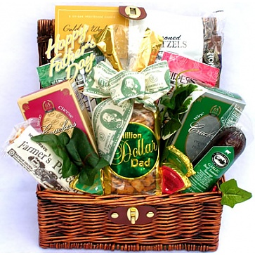 Million Dollar Dad Gift Basket