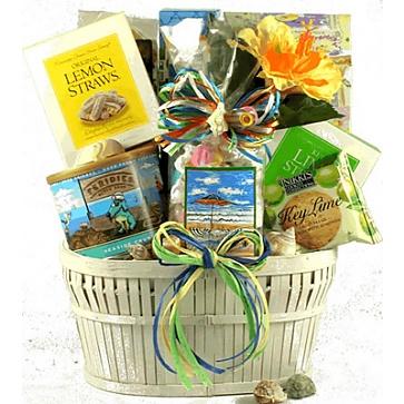 Seaside Snacks Gift Basket