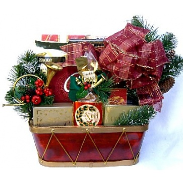 Spirit Of Christmas Gift Basket