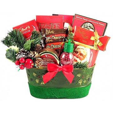 Holiday Surprise Gift Basket