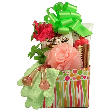Pretty and Pampered Gift Basket For Her