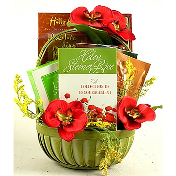 Gift Of Encouragement Gift Basket