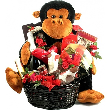 I'm Ape Over You Gift Basket