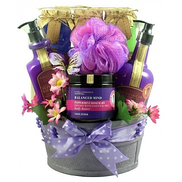 Aroma Therapy Spa Collection Gift Basket