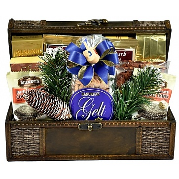 A Celebration of Hanukkah Gift Basket (Small)