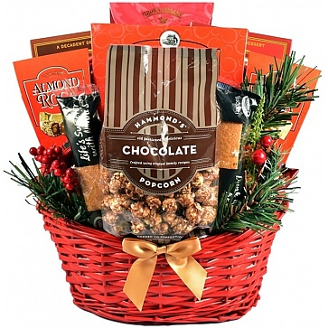 Chocolate Madness Holiday Gift Basket