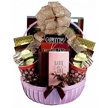 Christmas Coffee Shop, Holiday Gift Basket