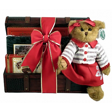 Christmas Treasures Gift Basket
