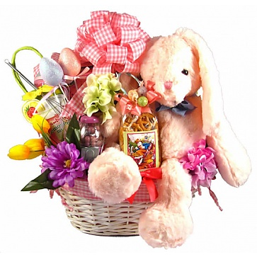 Cottontail Collection Easter Gift Basket (Large)