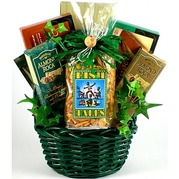 Fishing Fanatic Gift Basket For Fishermen