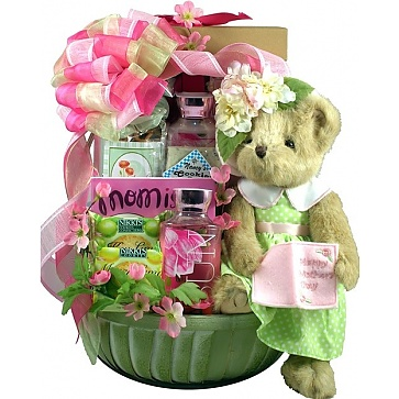 A Mother's Day Celebration Gift Basket For Mom