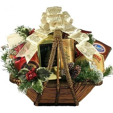Holiday Splendor Gift Basket