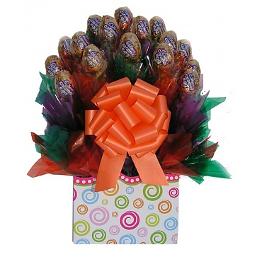 Cadbury Caramel Easter Candy Bouquet