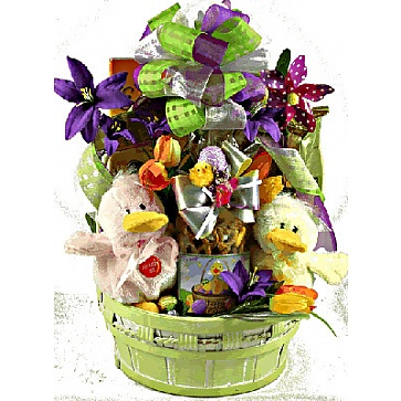 Just Ducky Easter Gift Basket