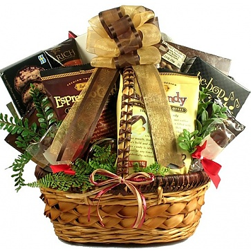 Love You A Latte! Coffee Lovers Gift Basket