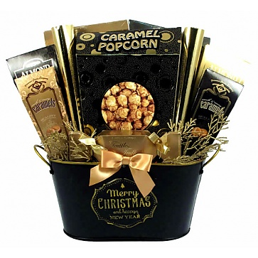 Merry Christmas and Happy New Year! Holiday Gift Basket