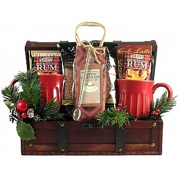 Snuggle Up Christmas Gift Basket