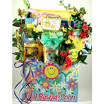 Sunny Days Ahead Get Well Gift Basket