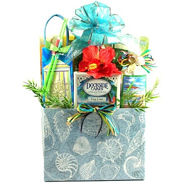 Deluxe Sun and Sand Gift Basket