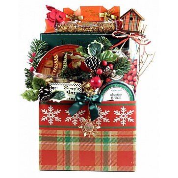 Traditional Christmas Gift Basket (Large)