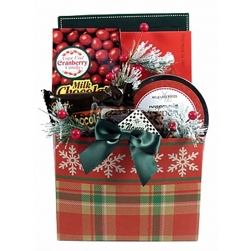 Traditional Christmas Gift Basket (Small)