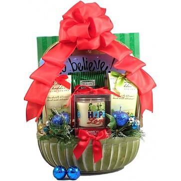 Rejoice! Christian Christmas Gift Basket