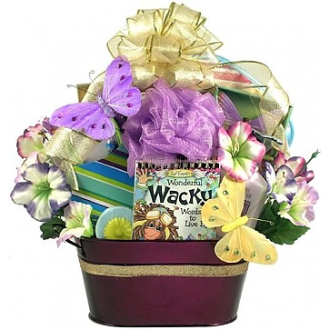 For A Wonderfully Wacky Woman - Spa Gift Basket