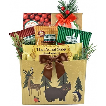 Woodland Wonders Holiday Gift Basket