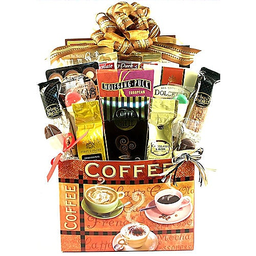 961_large_1.jpg  sc 1 st  Gift Baskets with Style & Village Caffe Deluxe Coffee Lovers Gift Basket