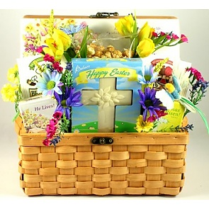 Easter Blessings Easter Gift Basket - Send Easter baskets online