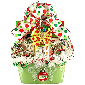 All The Trimmings Christmas Gift Basket -