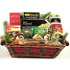 Say Cheese! Holiday Gift Basket -