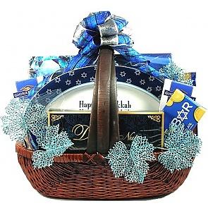 Shalom! Hanukkah Gift Basket - Shalom! Hanukkah Gift Basket #HanukkahGiftBasket