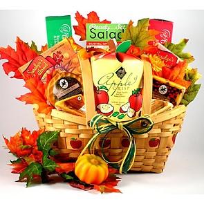 Autumn Abundance Gift Basket -