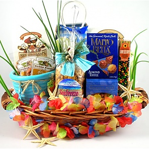 Big Kahuna Tropical Gift Basket -
