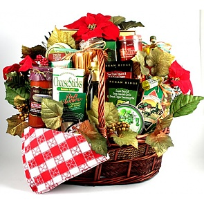 Family Christmas Gift Basket (Large) -