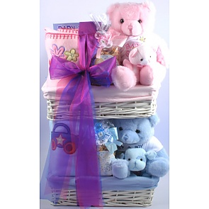 Double Trouble Gift Basket -