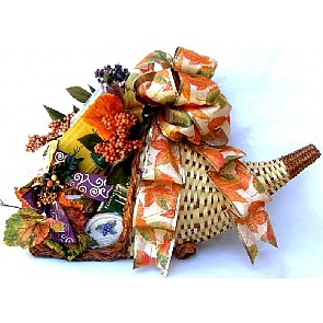 Horn of Plenty Gift Basket -