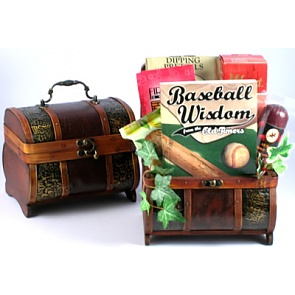 Home Run Treasure Chest Gift Basket -