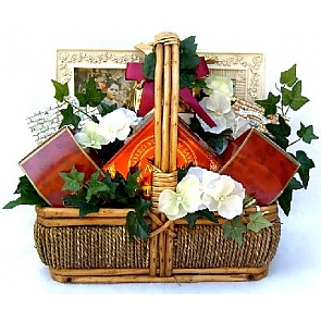 In Sympathy Gift Basket (Medium) -