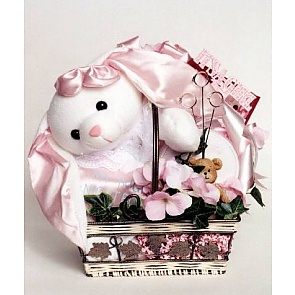 It's a Girl Gift Basket -