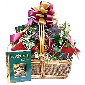 Happy Father's Day Gift Basket (Large) -